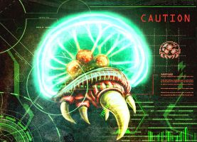 Scanning a Metroid by GarrettByers