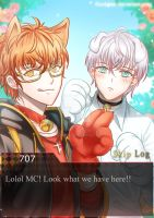 [Mystic Messenger] Puppy boys by Solchan