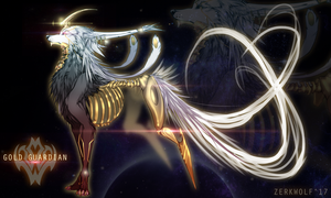 The Gold Guardian- adopt [closed] by ZerkWolf