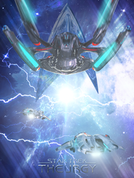 Ion Storm Poster | Star Trek: Theurgy by Auctor-Lucan