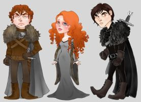 Some Starks by CourtneyTrowbridge