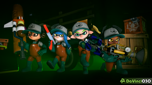 [SFM] Let's Hunt Some Power Eggs, Team! by DaVinci030