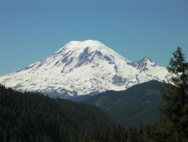 Tahoma From White Pass by infin8yquest