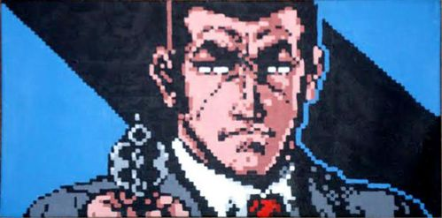 Golgo 13 Will Shoot You In The Face by Squarepainter