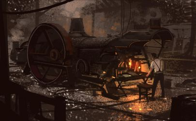 Steam Engine by Hideyoshi