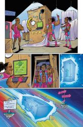 WWE: New Day Issue 1 page 4 COLOR by Taylor-the-Weird