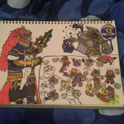 Demon King Ganondorf Chibi Adventure 2 by ForestKitty22