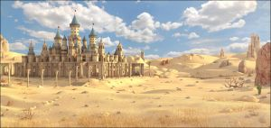 Deserted Castle by MarcMons007