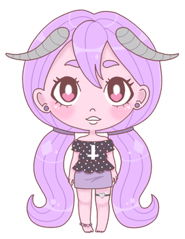 Pastel Demon by pastelcoven