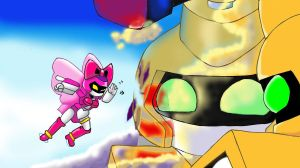 LadyBee to surprise MetaBee by LadyBee-Moy
