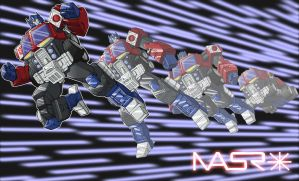 Energon Optimus Prime by rattrap587