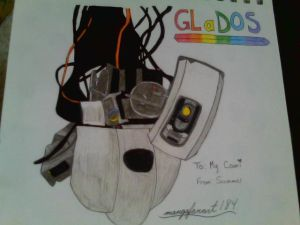 GLaDOS by HerHeartCrafts
