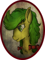 Apple Fritter Portrait by AncientOwl
