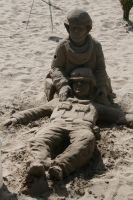 Sand Soldiers by TOTGStock