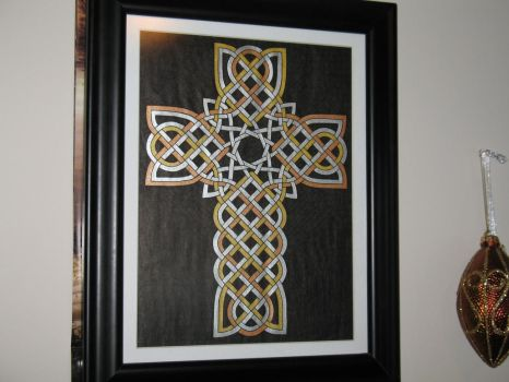 Colored Cross, Design 1 by baalthezzar