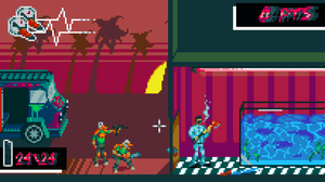 Hotline Miami 2 Wrong Number (platformer mockup) by HokyBriget