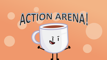 Coffee and the Action Arena Style by MinunButPichu