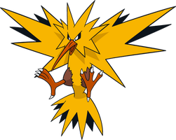 Shiny Zapdos Global Link Art by TrainerParshen
