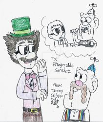 Maxwell McGraw meets Uncle Grandpa by CelmationPrince