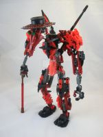 Bionicle MOC:Plague Doctor 2.1 by Mana-Ramp-Matoran