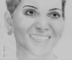 Halle Berry by jianchong