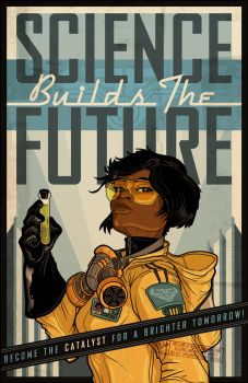 SCIENCE BUILDS THE FUTURE 2014 by PaulSizer