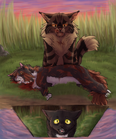Redtail's Death by paintedpaw-cat