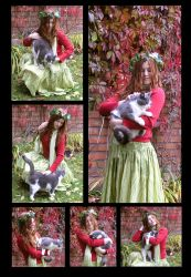 Girl And Cat Package by Eirian-stock