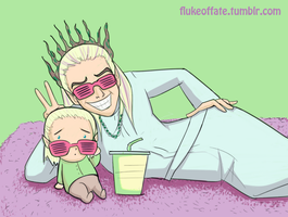 Shutter Shades for Baby by FlukeOfFate