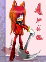 :CE: Aria Knight the Hedgehog by TothViki