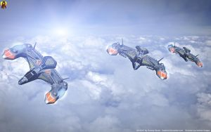 Scorpion Squadron by Euderion