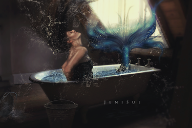 Mermaid In The Attic by Jeni-Sue