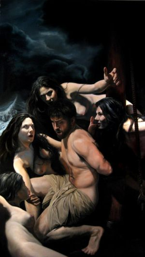 Odysseus and the Sirens by armusik