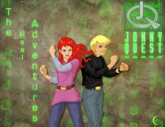 Jonny Quest and Jessie ala RW by GuardianRandyLimoges