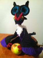 Noivern Crochet Plush With Pattern by Ookamichan423