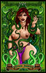 Tentacle lady poster nude2 by godzillasmash