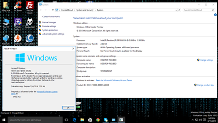 Windows 10 Pro Insider Preview (Build 10525) by Shing385629