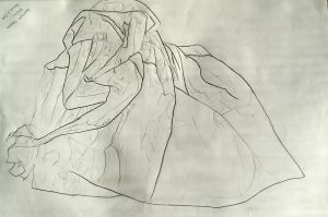 Crumpled Paper. Drawing I by Jesus-Fishboy