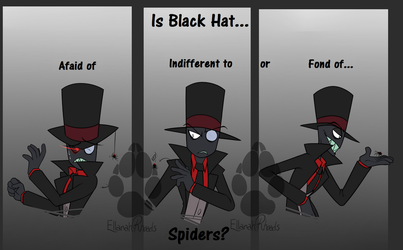 Villainous: Black Hat, Spiders? by PotatoBug-May