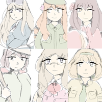 Aph girls part 1 by nyo-tastic