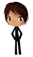Bow Tie Chibi Guy by ldybg95