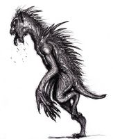 Chupacabra, Cryptid by KingOvRats