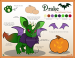 Drake Reference Sheet [SOLD] by MeMiMouse