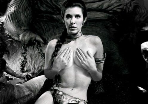 slave leia exsposed by tethras