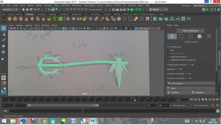 Keyblade2 wip by CaxceberXVI