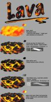 Lava tutorial by Fievy