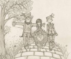 the road to oz. by sophalis