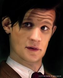 Matt Smith as Doctor Who by SariSariola