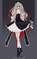 [CLOSED] Yandere:Adoptable Auction #9 by Chanharo