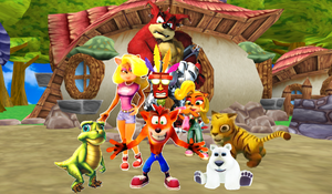 Crash Bandicoot N His Family and Friends by 9029561